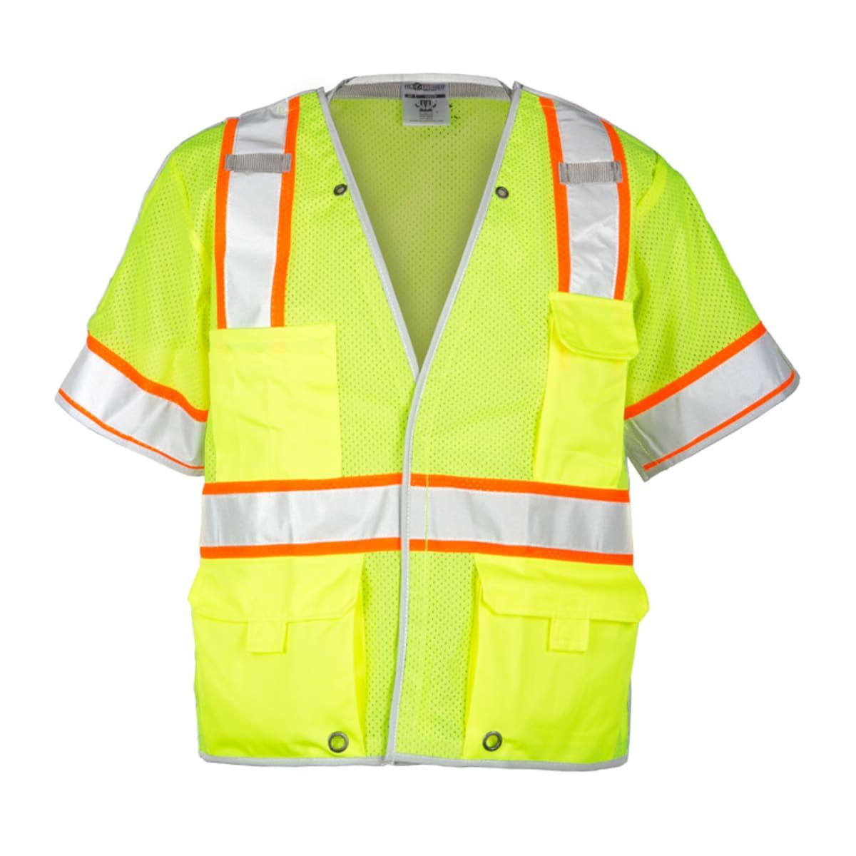 Vest Lime 2XL Breakaway Class 3