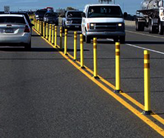 6 Commercial Plastic Parking Block Traffic Safety Store