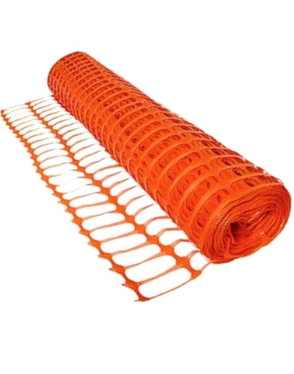 Plastic 4' Tall Construction Fence