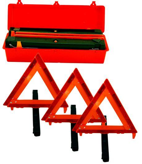 Triangle Reflector Warning Kit