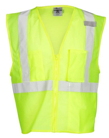 3 Pocket Zipper Mesh Vest