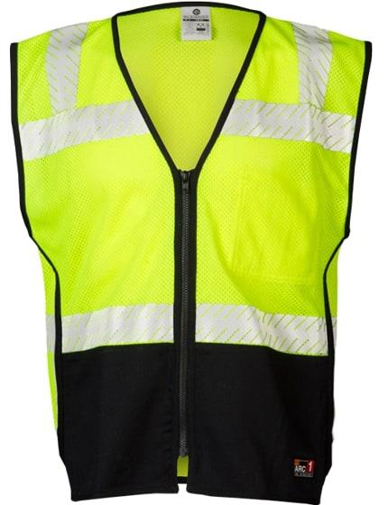 FR Black Bottom Vest