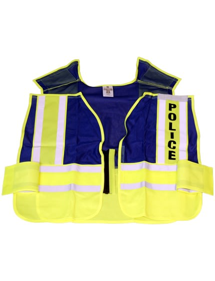 5-Point 'Break Away' Safety Vest - POLICE