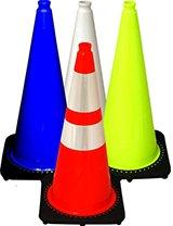 "28"" Traffic Cones - Black Base"