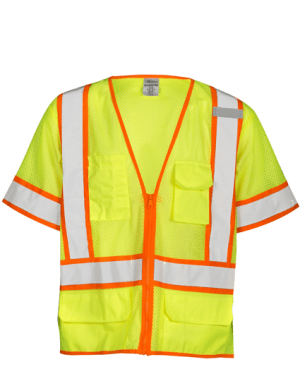 Safety Clothing Safety Vest Traffic Fluorescent Light/ Mesh Vest