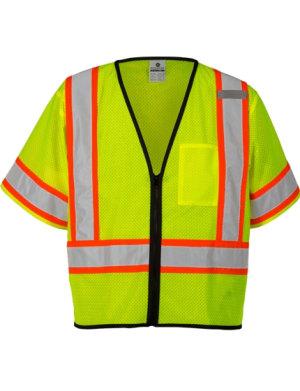 79efc56f Economy Contrasting Class 3 Safety Vest