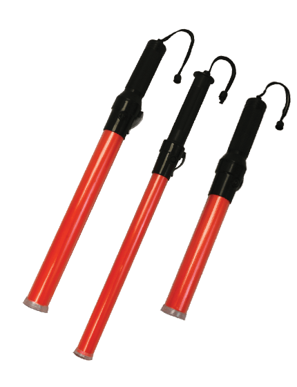 Traffic Wands with LED Flashlights | Traffic Safety Store