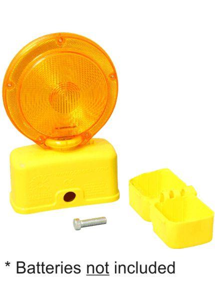 6 volt amber led barricade flasher traffic safety store. Black Bedroom Furniture Sets. Home Design Ideas