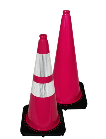 "28"" Pink Traffic Cones"