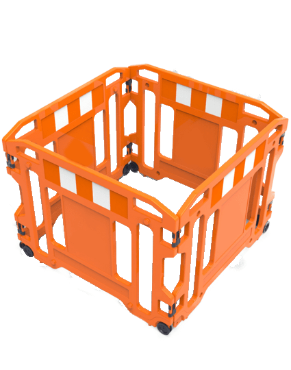 Work Area Safety Fence