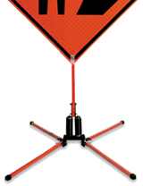 Little Buster ® Dual Spring Sign Stand
