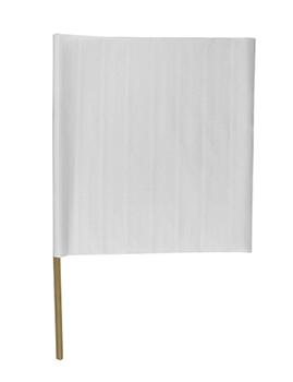 """20"""" PVC Construction Flags"""