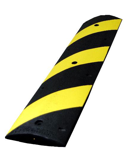 4' Heavy-Duty Rubber Speed Bump