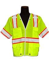 Break-Away LIME Brilliant Class 3 Vest