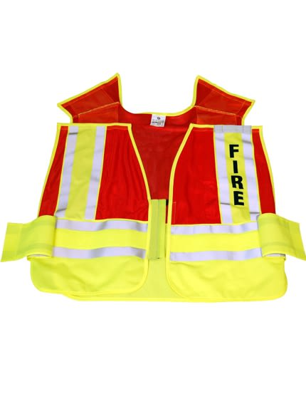 5-Point 'Break Away' Safety Vest - FIRE