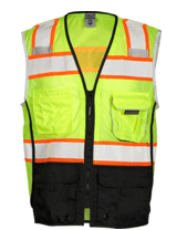 Premium Black Series Lime Vest
