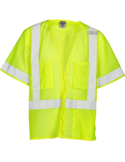 Economy 3-Pocket Class 3 Safety Vest