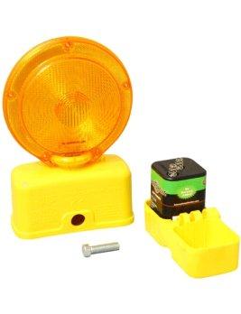 6-Volt Amber LED Barricade Flasher