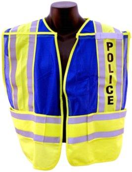 5-Point 'Break Away' Safety Vest - POLICE