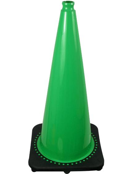"28"" GreenTraffic Cones image"