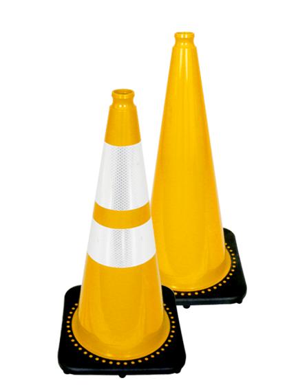"28"" Yellow Traffic Cones"