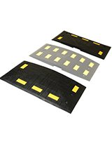 Rubber Speed Hump End Kit (two pieces)
