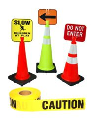 Clip-On Signs & Caution Tape