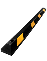 6' Economy Rubber Parking Block
