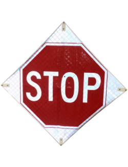 STOP Roll-Up Signs