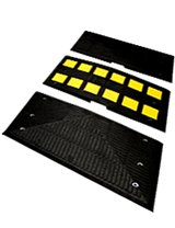 Recycled Rubber Speed Humps