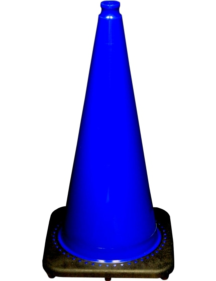 "28"" Blue Traffic Cones"
