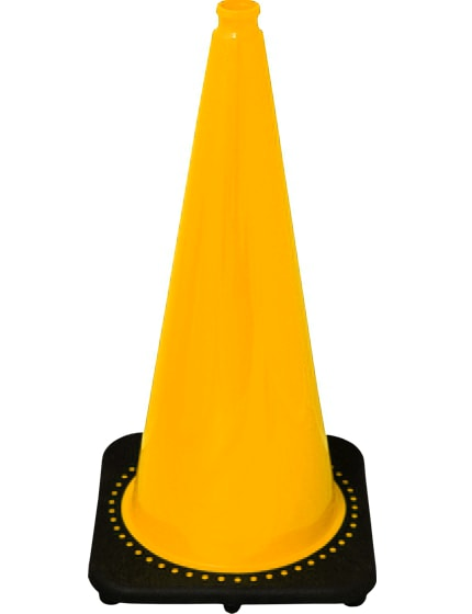 "28"" Yellow Traffic Cones"