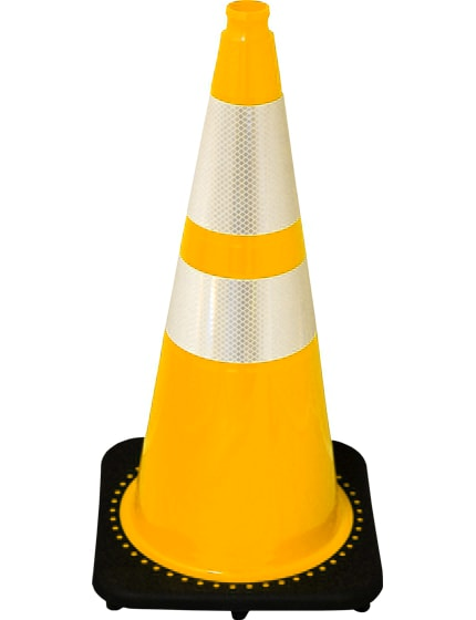 "28"" Yellow Traffic Cones +Add"