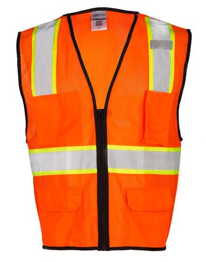 Orange 4-Pocket Economy Contra