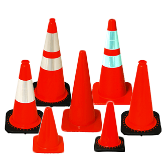 Orange Traffic Cones