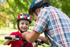 childrens bike helmet