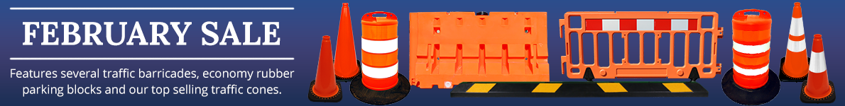 February Sale at Traffic Safety Store