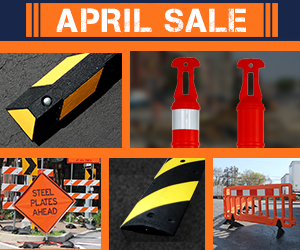 April Sale at Traffic Safety Store